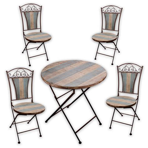 Gartenmöbel Landhaus by Wandregal Regal Tisch Stuhl Bistrotisch Klappstuhl