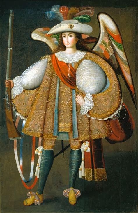 arnoldo gualino angeles arcabuceros arte del virreinato
