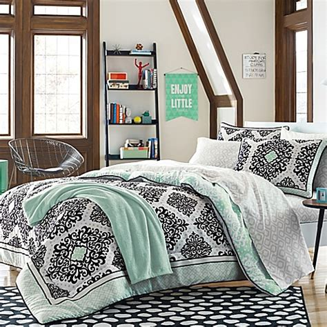 Mint Curtains Bed Bath And Beyond by Cooper Bedding Kit In Mint Bed Bath Beyond