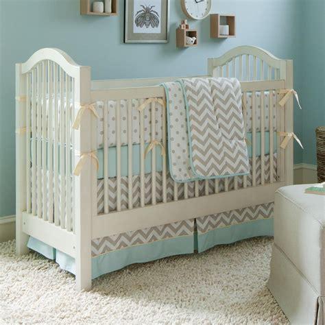 Baby Crib Bedding Chevron by Taupe Zig Zag Crib Bedding Boy Or Baby Bedding