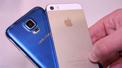 iphone 5s vs galaxy s5 galaxy s5 vs iphone 5s comparison tech and