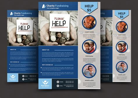 charity fundraising flyer templates flyer templates