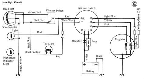 Electrical Wiring Diagram Motorcycle