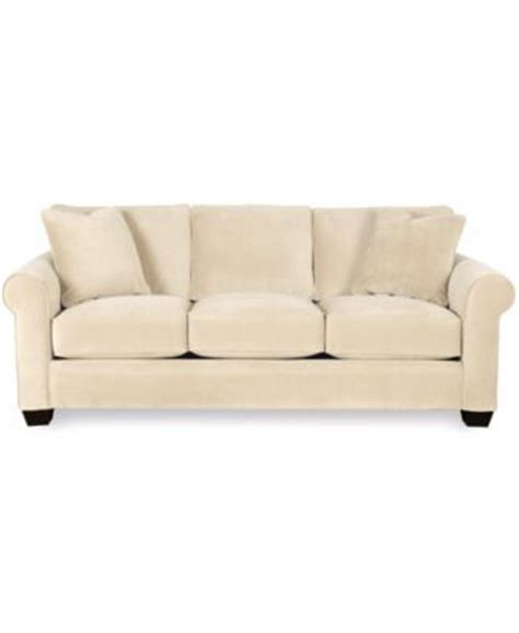 macys kenton 88 wood base sofa remo fabric sofa furniture macy s