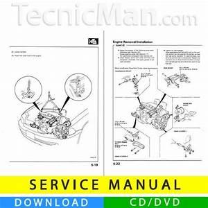 Honda Civic V Service Manual  1992