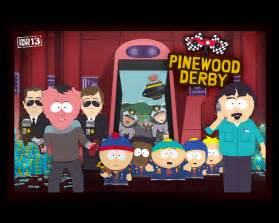 Pinewood Derby South Park