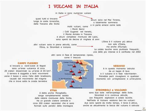 paradiso delle mappe i vulcani in italia