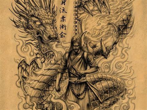 japanese samurai  dragon wallpapers top  japanese samurai  dragon backgrounds