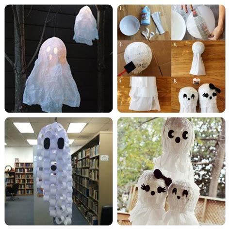 Fantasmas de papel: ¡Decorar para Halloween no tiene por
