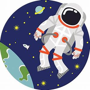 Royalty Free Astronaut Clip Art, Vector Images ...
