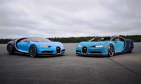 Lego says the car can accelerate to slightly over 12 miles per hour (theoretically up 18 miles per hour) and weighs over 3,000 pounds. Lego Bugatti Chiron is a life-size toy that can actually be driven