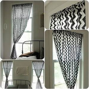 Diy how to make curtains easy sewing tutorial pattern for Simple curtain patterns