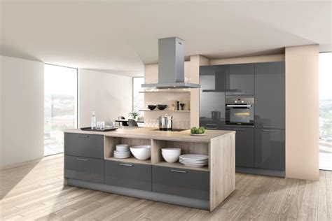 grey gloss kitchen cabinets high gloss kitchens from lwk kitchens 4064