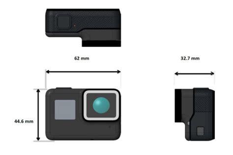 gopro hero6 black 5 black dimensions size gopro support hub