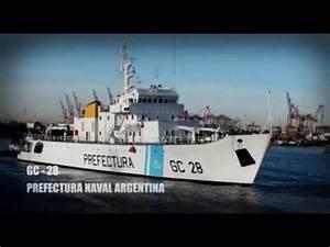 Modernización del guardacostas GC 28 Prefecto Derbes - YouTube