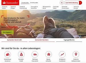 Santander Bank Kredit Erfahrungen : santander erfahrungen testbericht zu santander bank ~ Jslefanu.com Haus und Dekorationen