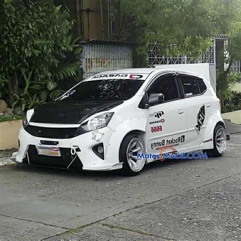 Modifikasi Agya by Gambar Toyota Agya Ceper Modifikasi Mobil