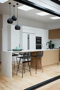 Davausnet decoration cuisine bois naturel avec des for Idee deco cuisine avec deco chambre style scandinave