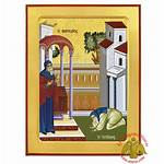 Tax Collector Parable Icon Pharisee Byzantine Wooden