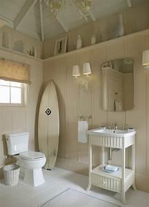 Salle de bain decoration mediterraneenne et bord de mer for Salle de bain design avec décoration anniversaire thème bretagne