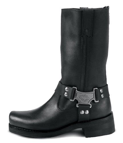 classic leather motorcycle boots milwaukee motorcycle clothing company classic harness