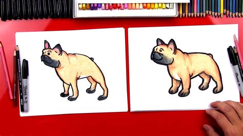 How To Draw A Bulldog Plus New Ebook Art For Kids Hub