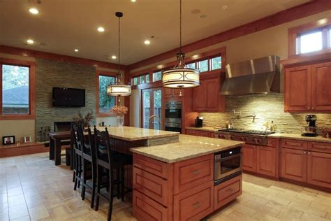 mission style kitchen lighting craftsman style home decorating ideas zillow digs 7540