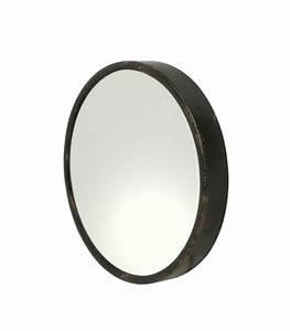 Miroir Rond Métal Noir : miroirs muraux large choix ~ Teatrodelosmanantiales.com Idées de Décoration