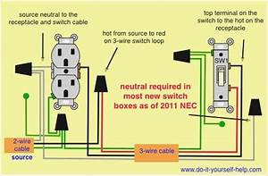 Outlet Switch Wiring Diagram