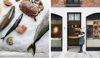 Fish Seafood Shore Door Delivery Services Slower