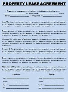 renting contract template - lease agreement template free word templatesfree word