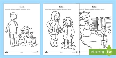 suitable clothes for weather types worksheet worksheet gaeilge roi