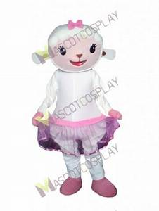 Sheep Lambie from Dr Doc Mcstuffins Mascot Costume