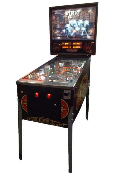 williams fire pinball machine vintage arcade superstore