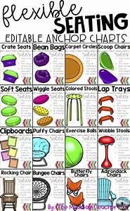 Anchor Growth Chart Editable Flexible Seating Anchor Charts With Images