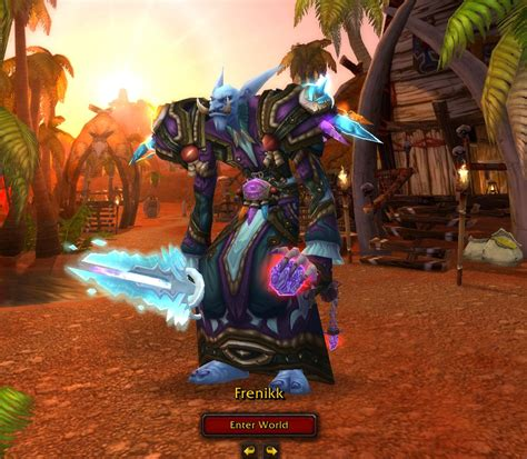 transmog robe  tunic red  blue altered time