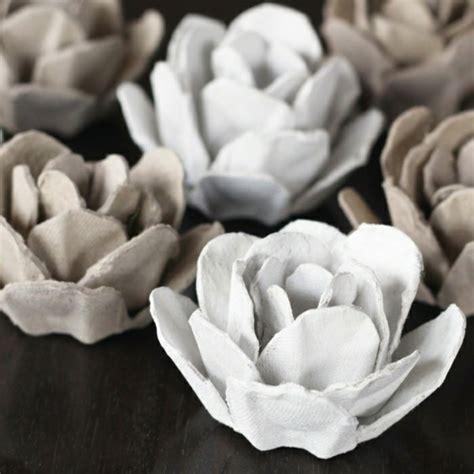 blumen kostüm selber machen 30 coole bastelideen aus eierschachteln die sie in erstaunen versetzen