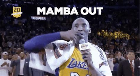 Kobe Bryant Mamba Out