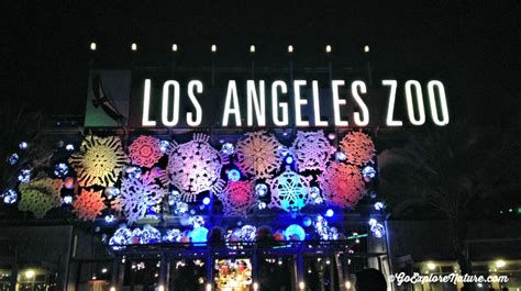 la zoo lights los angeles tradition la zoo lights