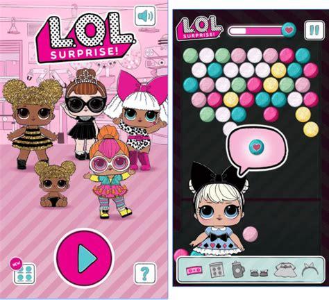 lol surprise ball pop game  review lotta lol
