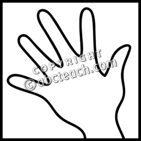 touch clipart black and white clip senses 1 touch b w clipart panda free