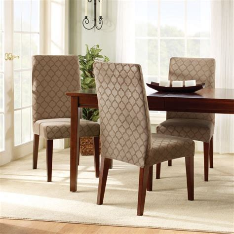 Dining Room Chair Slipcovers For On Budget Redecoration