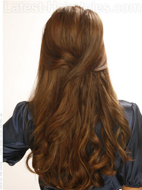 Wavy Half Updo Hairstyles by 20 Gorgeous Formal Half Updos You Ll Fall In With