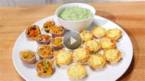 easy no cook canapes healthy easy appetizer recipes eatingwell