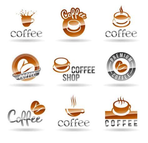 Restaurant cafe set card, flyer, menu, package, uniform design set. 9+ Coffee Shop Logo Design Vector | Kedai kopi, Desain, Kopi