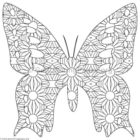 butterfly coloring pages  getcoloringpagesorg