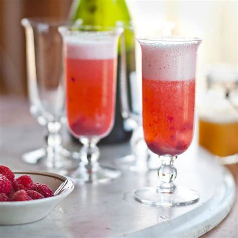 mimosa recipes peach melba mimosas recipe