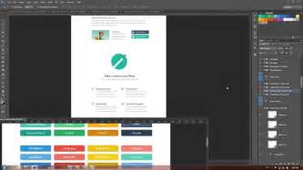 how to design a website how to create a website in flat design style tutorial