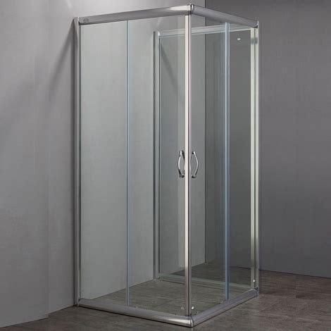 box doccia 3 lati prezzi box doccia a 3 lati in cristallo 6mm trasparente o satinato