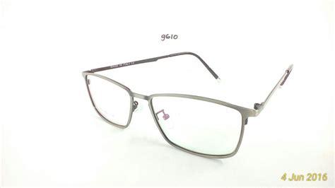 jual frame kacamata baca minus plus silinder stainless